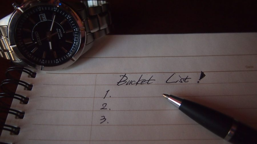 Bucket lists contain goals and dreams, and evidently, they vary by grade level.