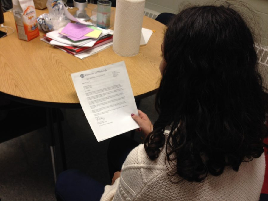 Students are already receiving acceptance letters from various colleges.