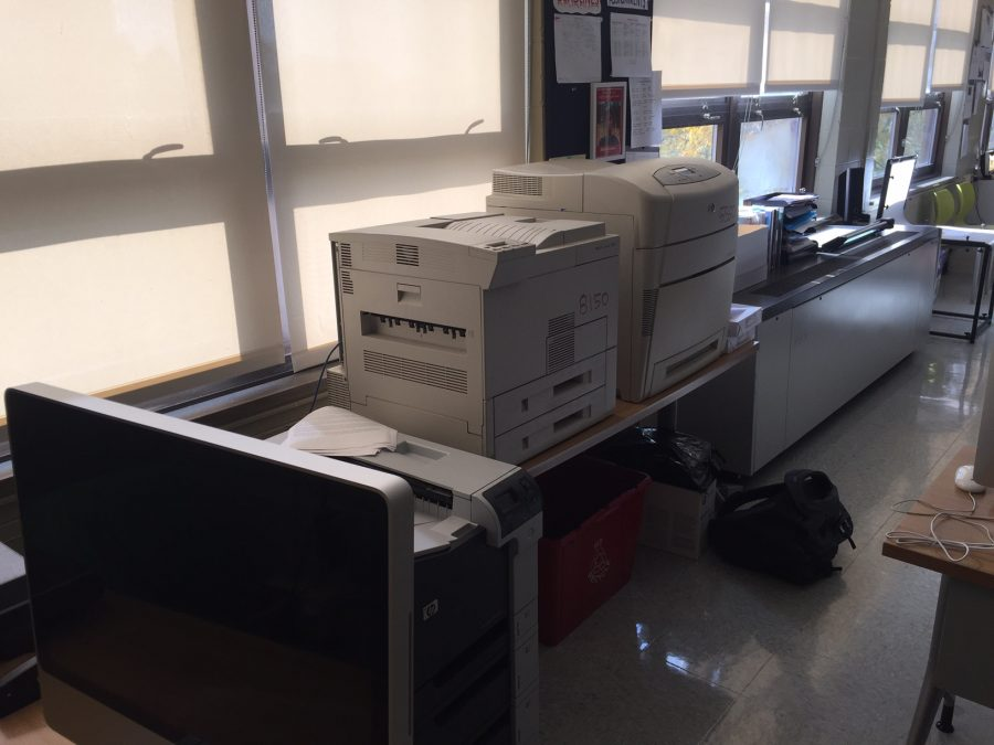 Printers in classrooms will be removed as Central moves towards becoming 1:1.