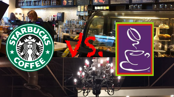 Starbucks Coffee vs. Cafe La Fortuna.