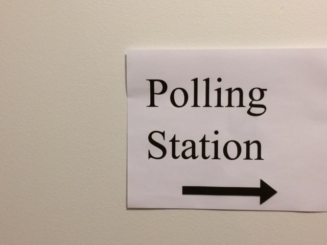 Polling+Station+signs+will+be+in+front+of+buildings+hosting+the+election+and+directing+voters+on+where+to+go.+