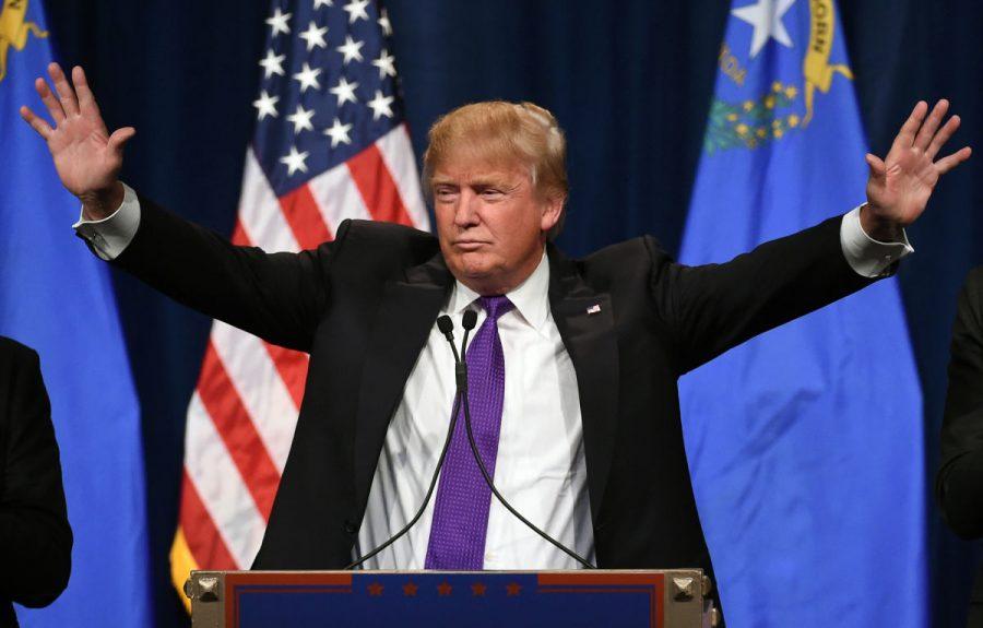 President Elect Donald Trump speaks after winning 290 electoral votes.