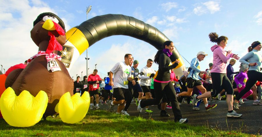 With Thanksgiving approaching, runners can participate in local Turkey Trots.