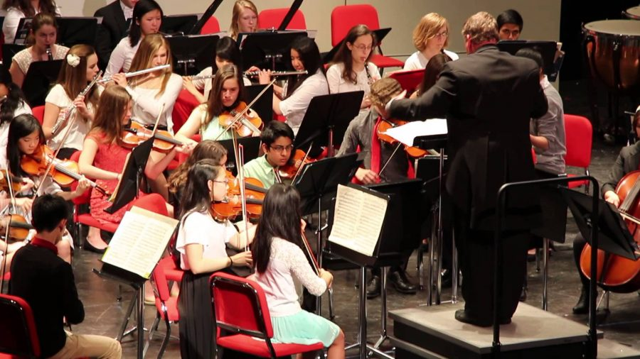 The schools orchestra performed at the Winter concert last year and will host the holiday concert this year on Dec. 13.