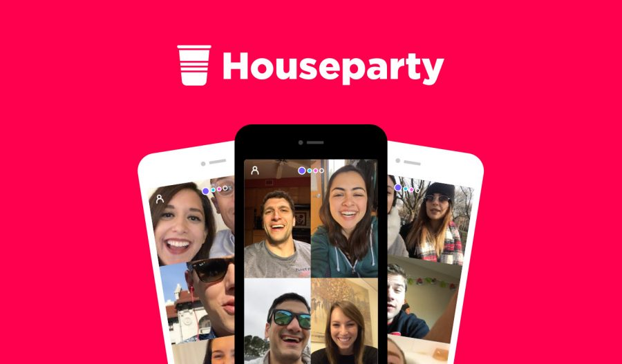The+Houseparty+application+has+become+popular+among+Central+students+as+a+way+to+video+chat+with+up+to+eight+friends.