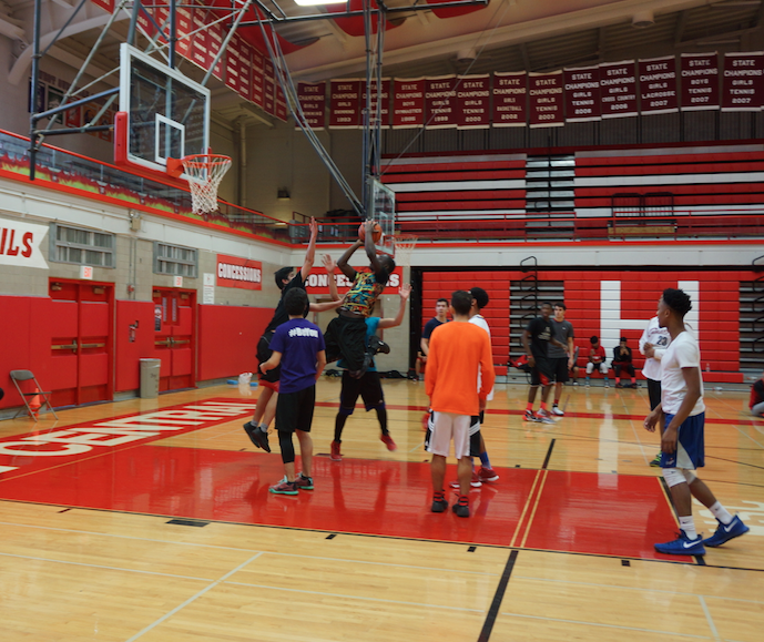 Hinsdale Centrals Muslim Student Association Club hosted a basketball tournament on January 15 in the Main Gym.