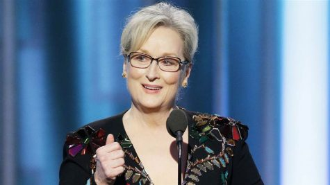 Meryl Streep accepts the Cecil B. DeMille Award at the 74th Annual Golden Globes on Jan. 8. Her acceptance speech touches on current political issues concerning free speech.