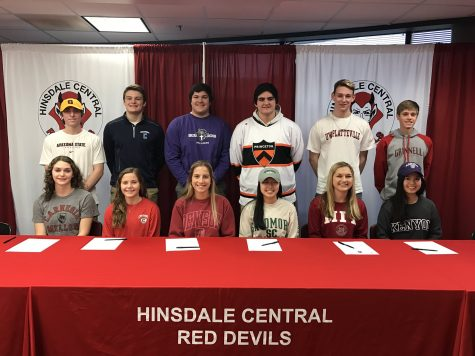 Nation Signing Day, typically held on the first Wednesday of February, marked the day 12 Red Devil athletes officially committed to play their respective sport in college.
