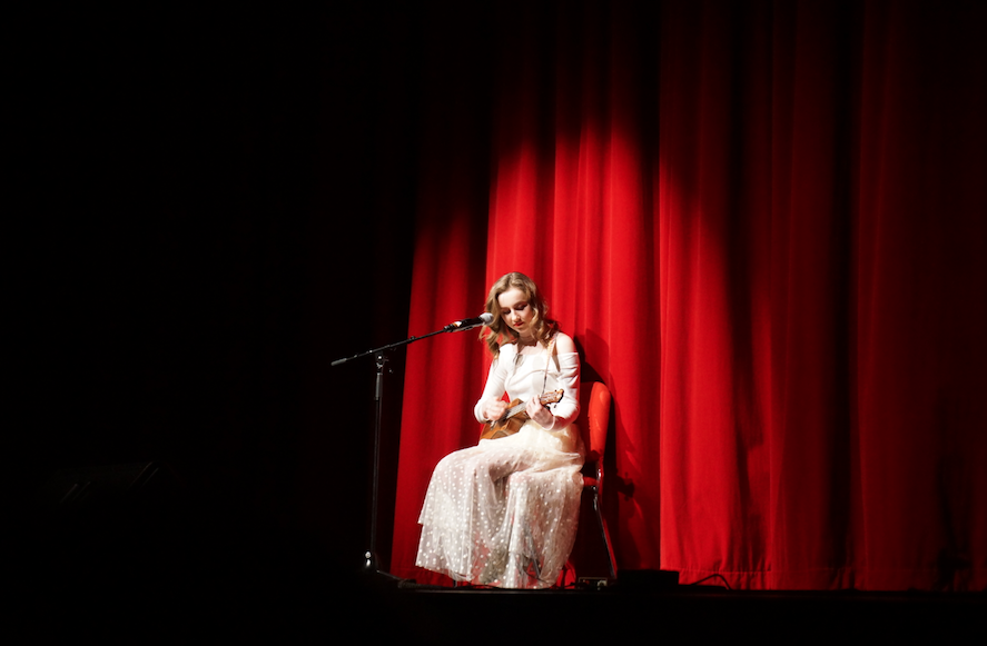 The annual Hinsdale Central Variety Show kicked off on Wednesday, February 1, in the auditorium and continues through Thursday, February 2.