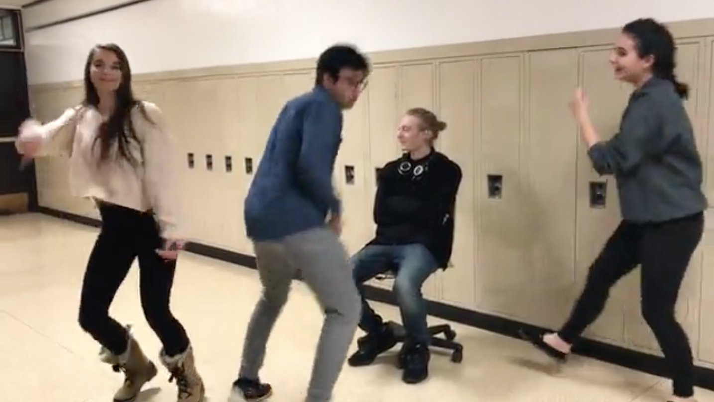 As Valentine's Day approaches and students anticipate the return of singing valentines, members of Devil's Advocate Online took it upon themselves to perform dancing valentines.