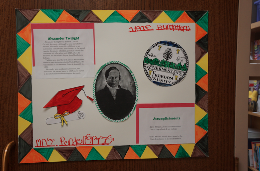 Hinsdale+Central+students+participate+in+the+%22Hidden+Figures%22+poster+challenge+in+honor+of+Black+History+Month.+