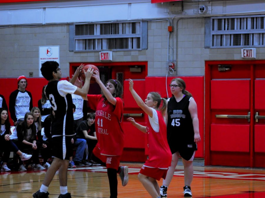 The+Special+Olympics+basketball+team+won+on+Jan.+28+and+will+move+on+to+state.+