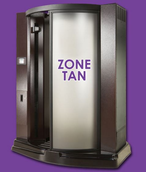 Stand-up booths allow for an even result.