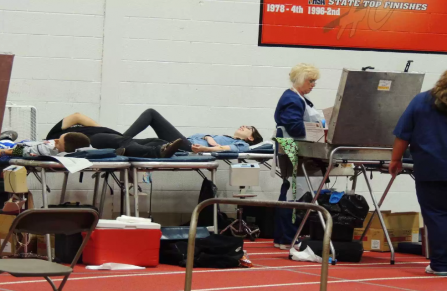 NHS+will+host+a+blood+drive+on+March+9+where+students+16+or+over+are+able+to+donate+blood.