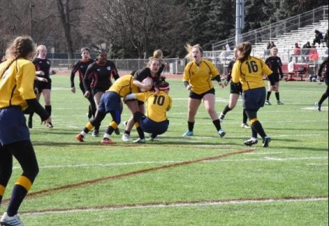 Last year, the Boys' Rugby team were state champions, and this year the Girls' will aim for the same title.