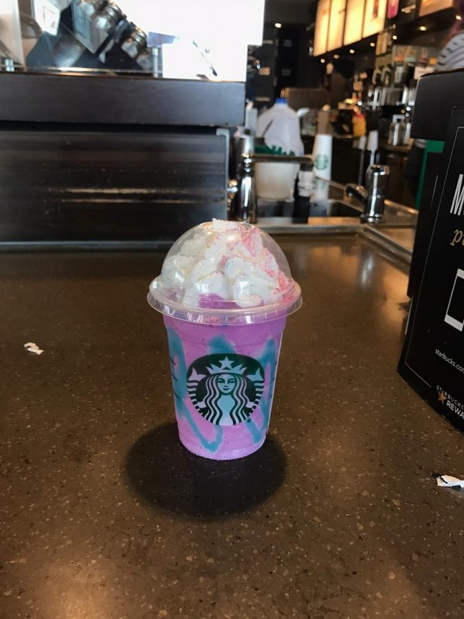 Starbucks will be serving a color and flavor changing