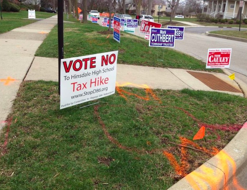 Voters defeated a 76 million dollar referendum by a 70-30 margin.