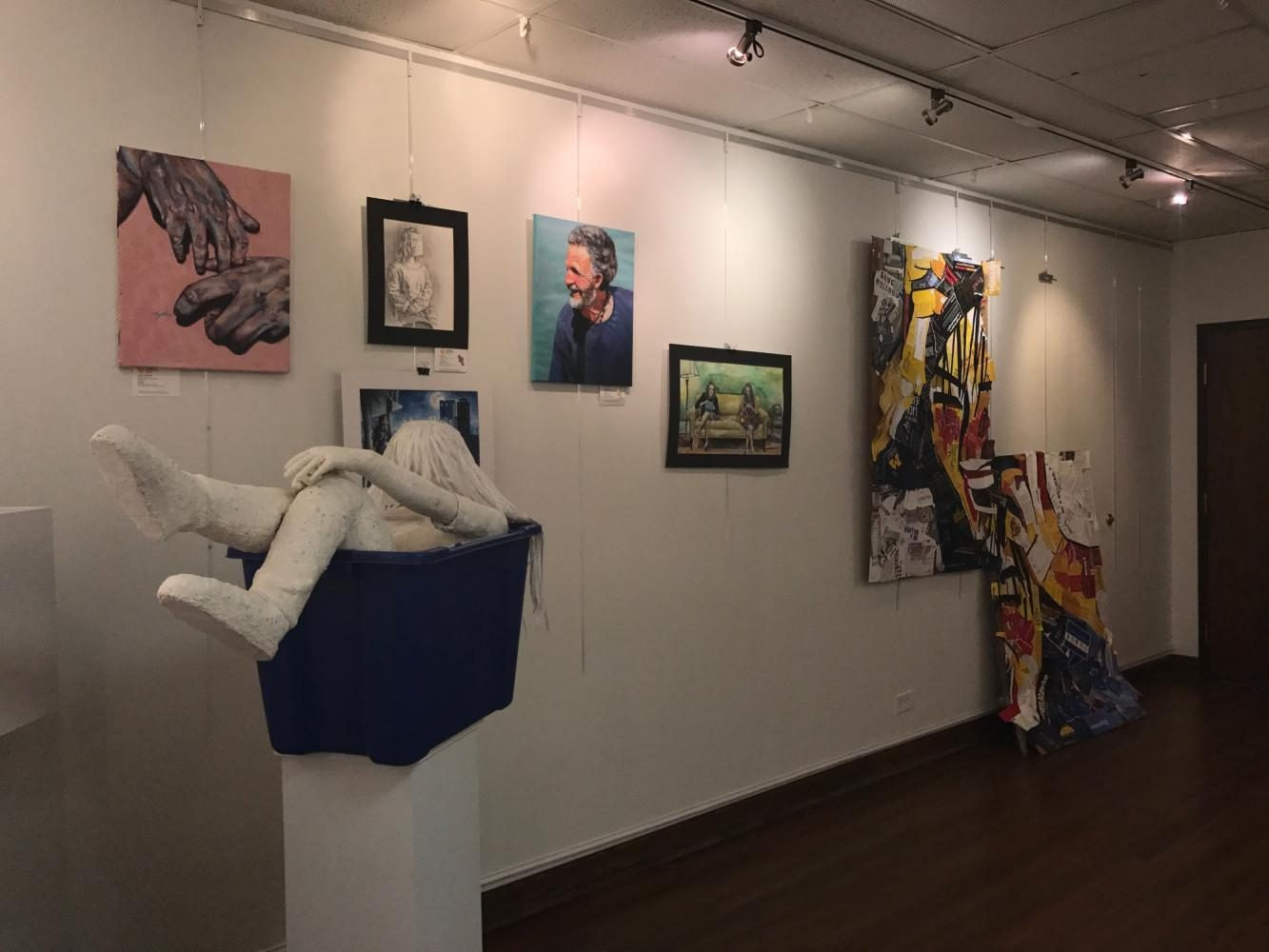 Hinsdale Central's Art students showcase their talents at this year's Ap Studio Art Show.