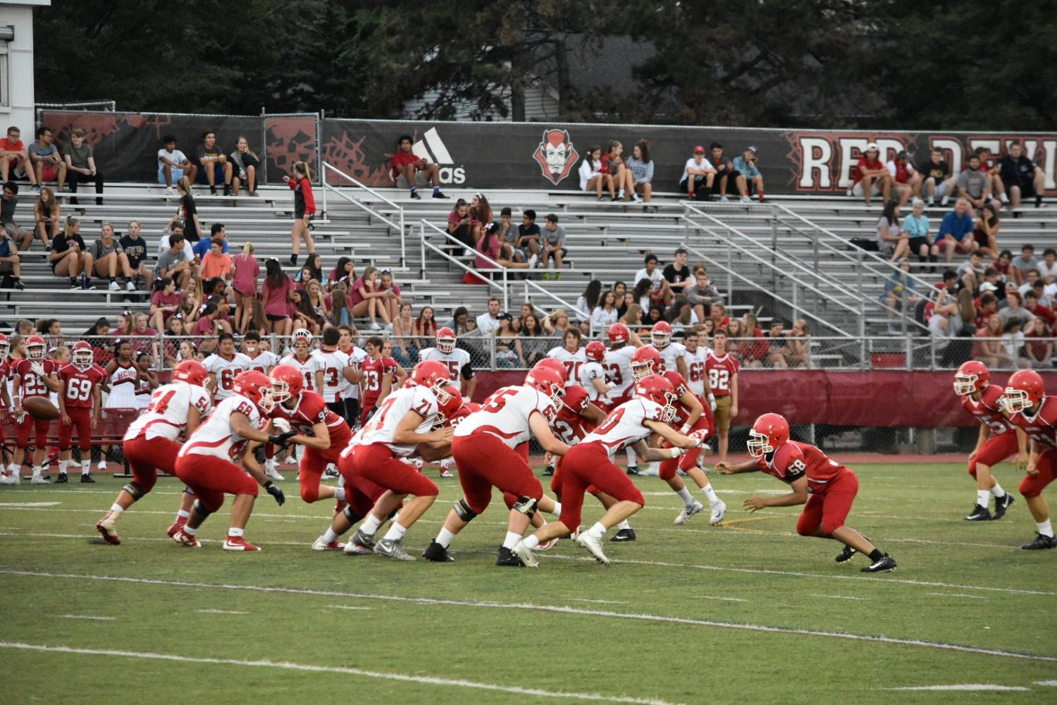 Football season kicked  off with the Red-White Scrimmage on Aug. 18.