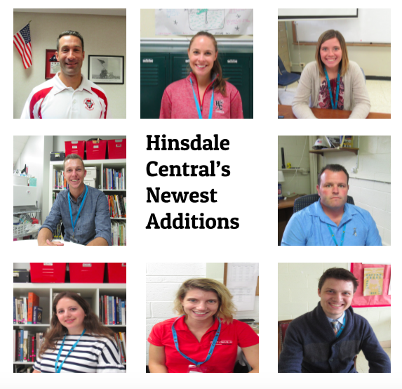 This school year Hinsdale Central welcomed eight new staff members to the school.