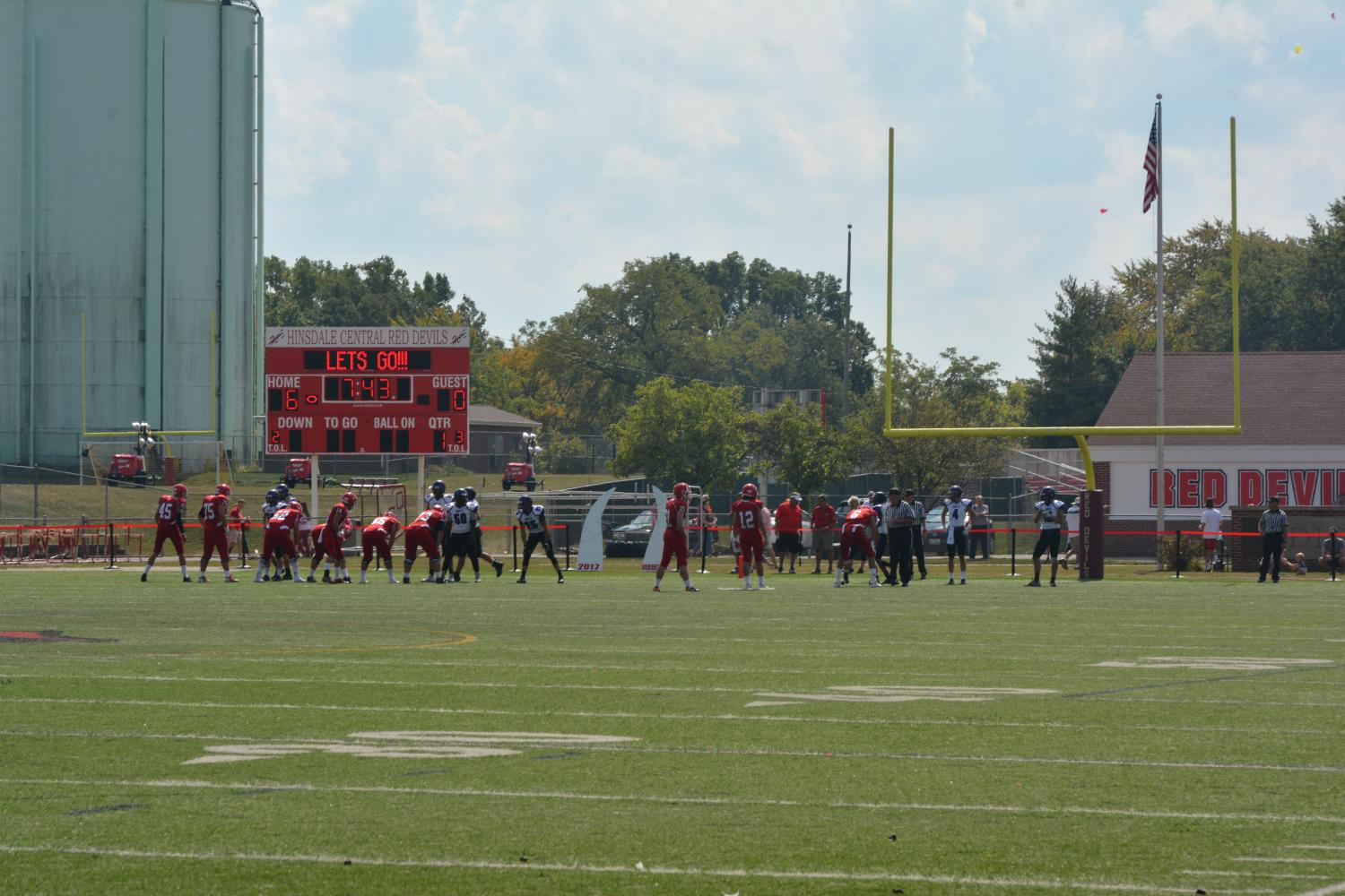 Under the blazing sun, the Red Devils came out victorious against the Trojans.