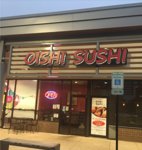 Oishi Sushi is perfect for students who have a lower budget but still want a plentiful amount of food.