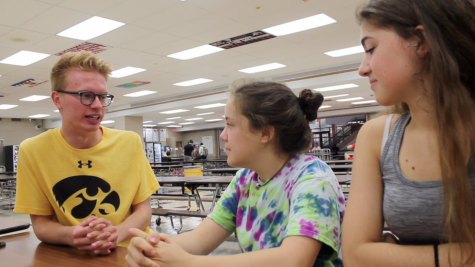 Nick Seda and students talk about why they arrive at school before everyone else.