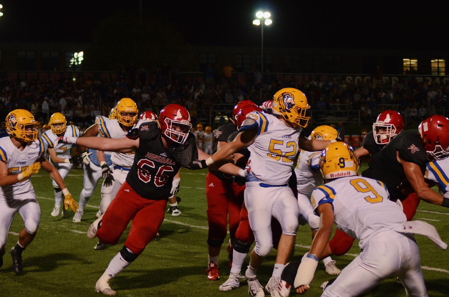 With all the tackling and intense plays that occur each football game, it's no surprise that many Red Devil players are out due to injuries.