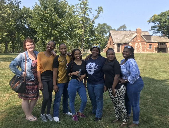 Teachers from South Africa have arrived in Hinsdale for a stay as part of the club LEAP into Africa.