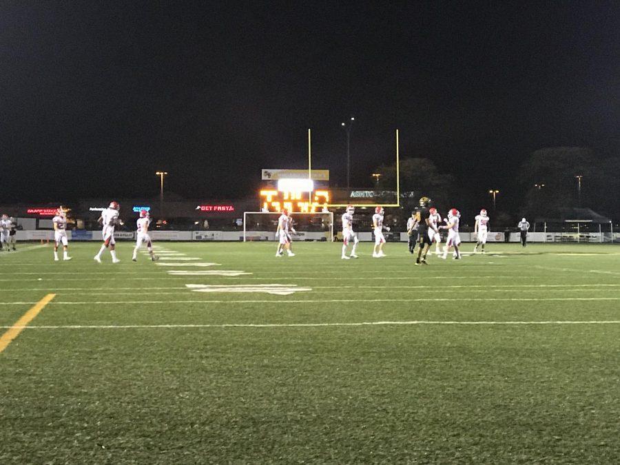 The boys varsity football team blew LT away with a 42-7 victory.