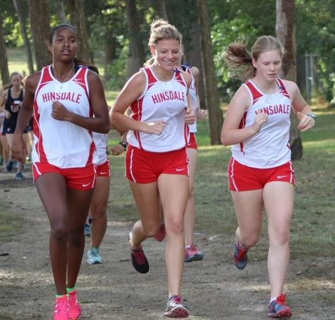 Girls cross country's moves for upcoming meets