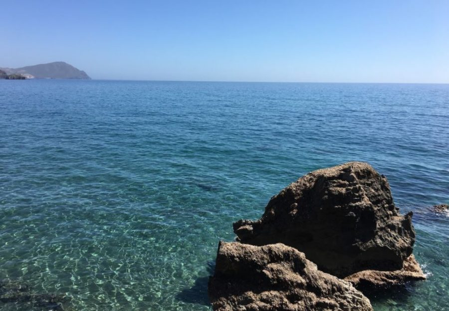Other site visits included seeing the Mediterranean Sea.