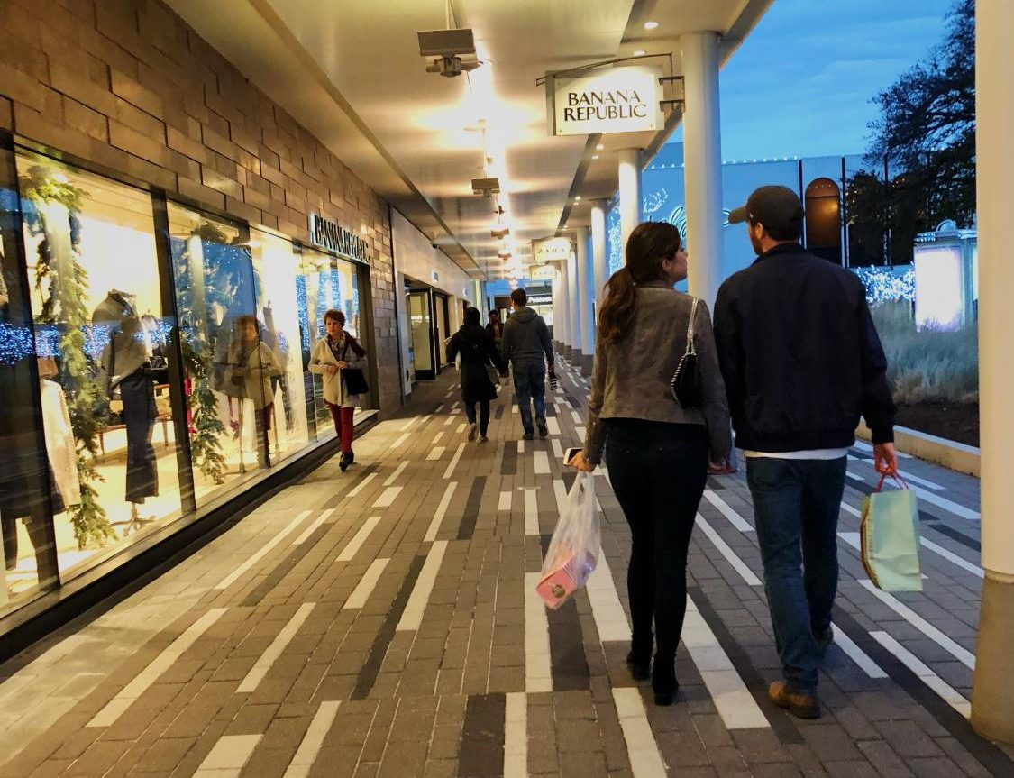 Holiday shoppers get a head start on their shopping lists at Oakbrook Center, a popular spot for many to get what they need just in time for their holiday gift giving.