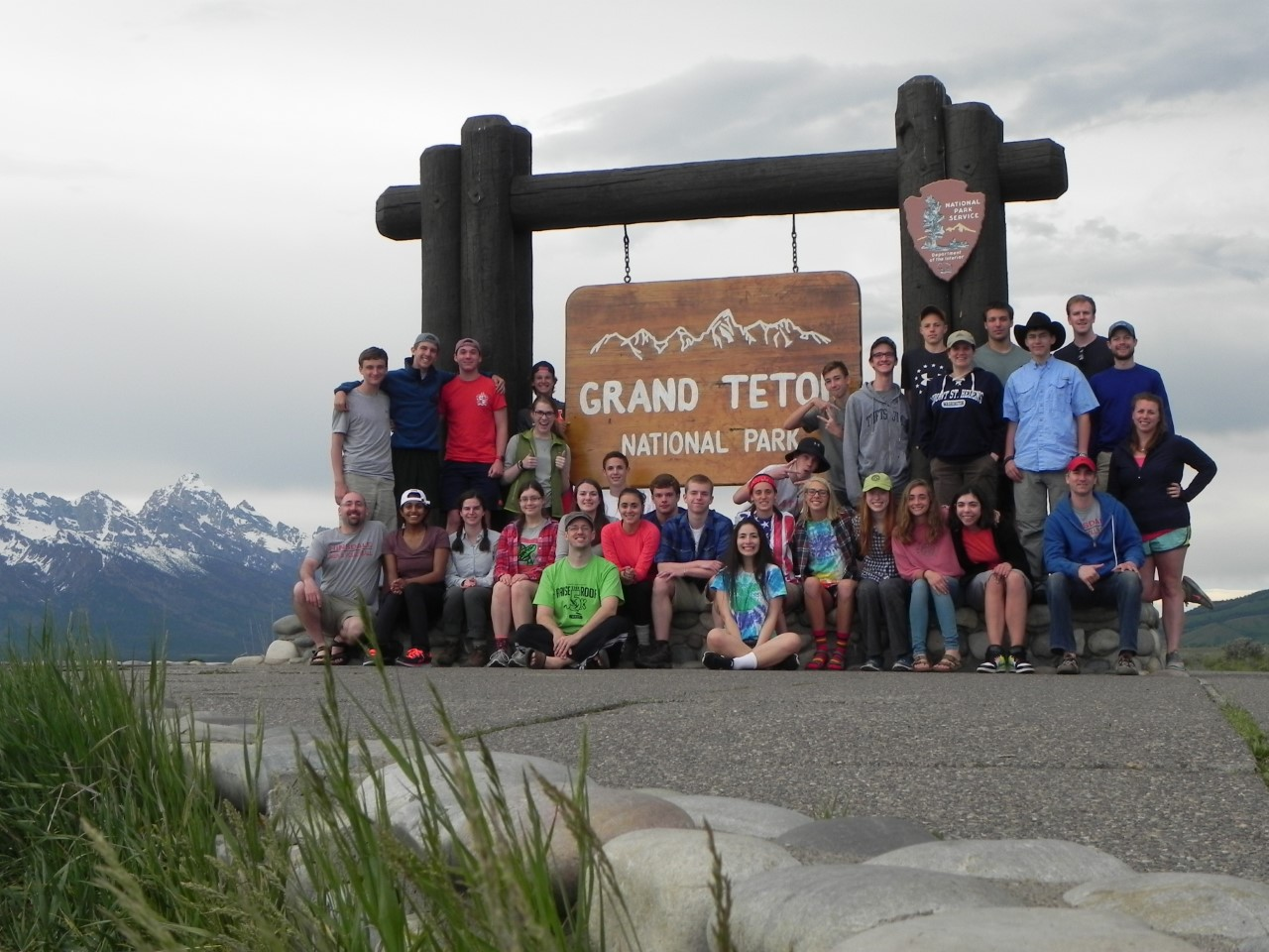 In 2016, teachers and students traveled to Grand Teton National Park in Wyoming for a camping and hiking adventure.
