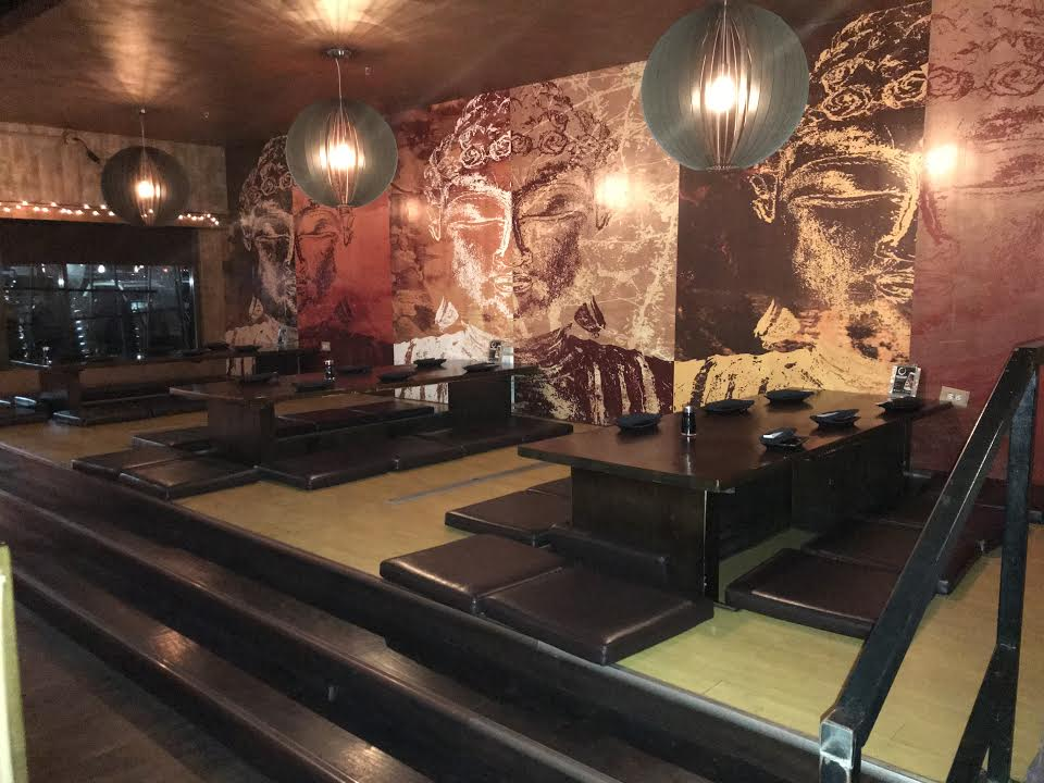 This sitting area definitely brings out the cultural side to the restaurant, going along with its authentic food.