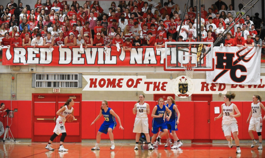 Last year the Red Devils had many talented senior players, who have since gone off to college. With this loss, the new senior players have stepped up.