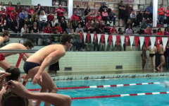 Boys swimming overpowered by New Trier