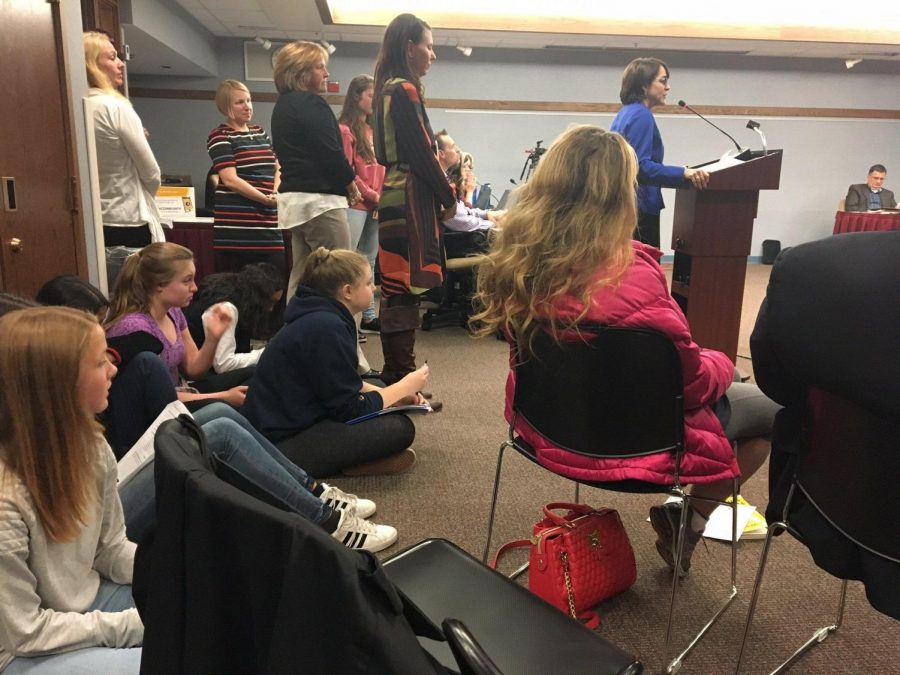 Students and teachers have been meeting over the past few months to discuss the possibility of an opt-out policy for senior final exams at the end of the year.