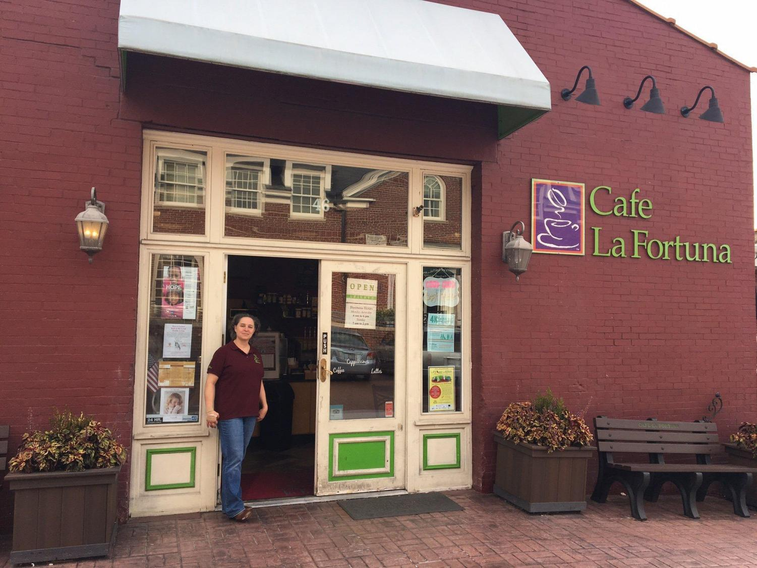 Mrs. Angela Lavelli is part of the Cafe La Fortuna family ownership.