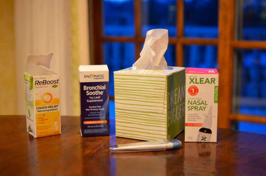 The flu outbreak in Hinsdale has prompted many students and staff members to take extra measures to ensure they don't also get sick.