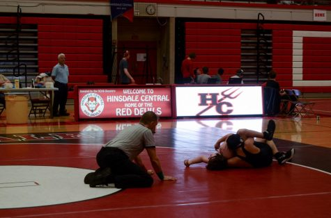 Boys wrestling takes down York