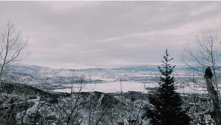 Kate Magnesen, junior, traveled to Park City, Utah over winter break.