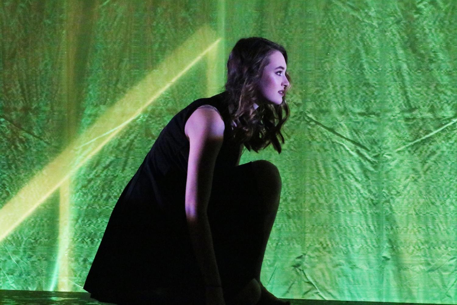 Allie Moreton, junior, has acted and helped direct many school shows such as