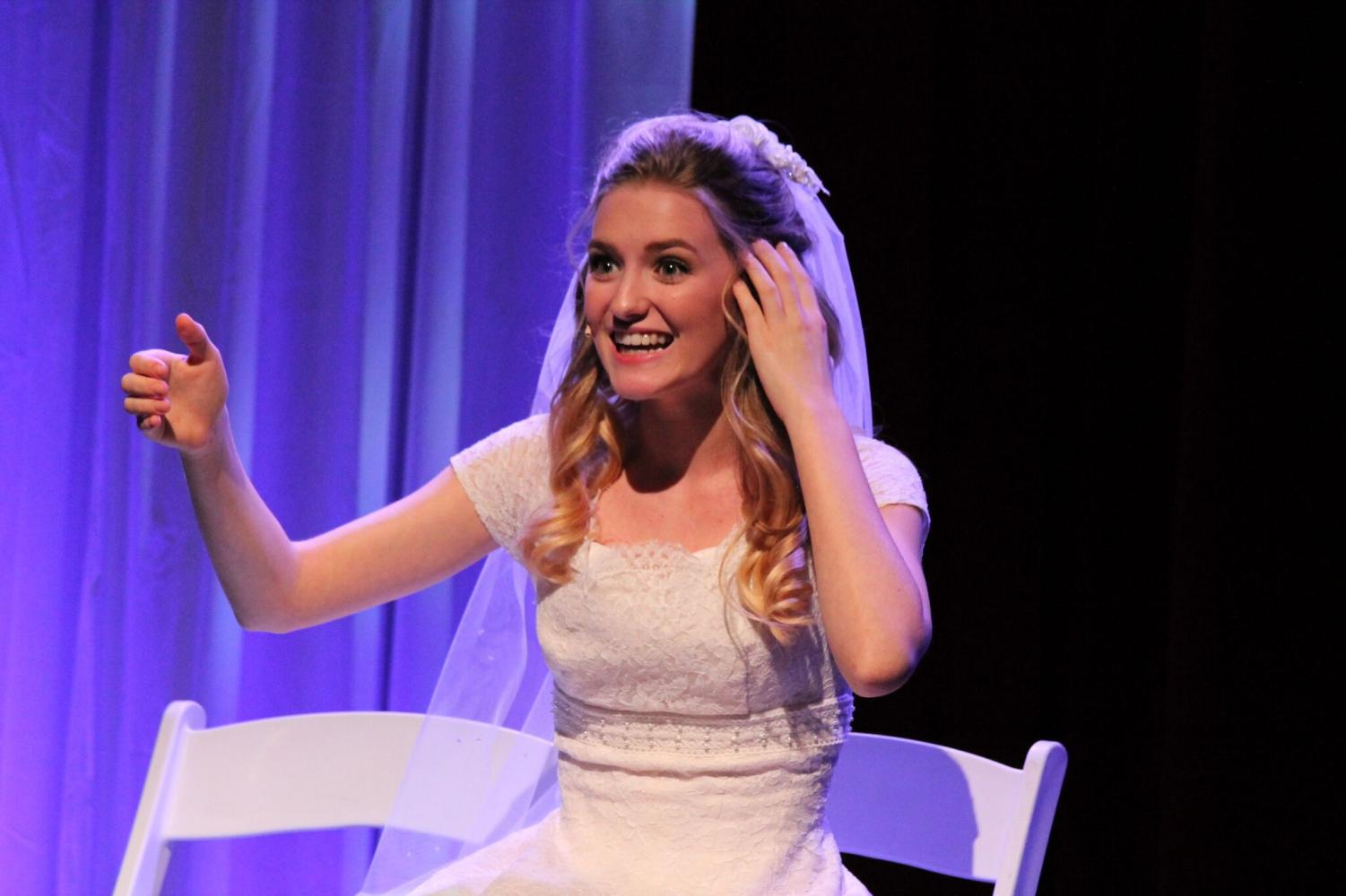 Katie schaber, who played the bride in the September show,