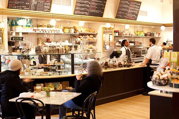This cafe is different in that they make French-style pastries from scratch and offer many drinks.