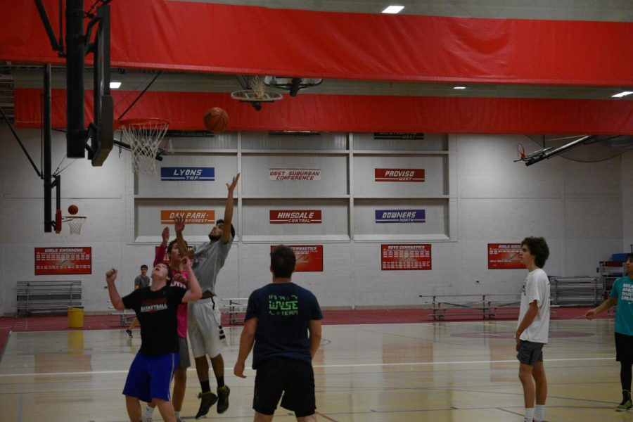 LEAP+into+Africa+hosted+a+three-on-three+basketball+tournament+on+Sunday%2C+Feb.+25+in+the+field+house.+They+had+a+big+turnout+for+the+game%2C+with+many+students+participating+in+the+tournament.+