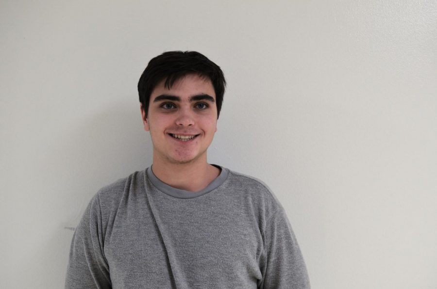 Cameron Garber, junior, will be joining the magazine's staff.