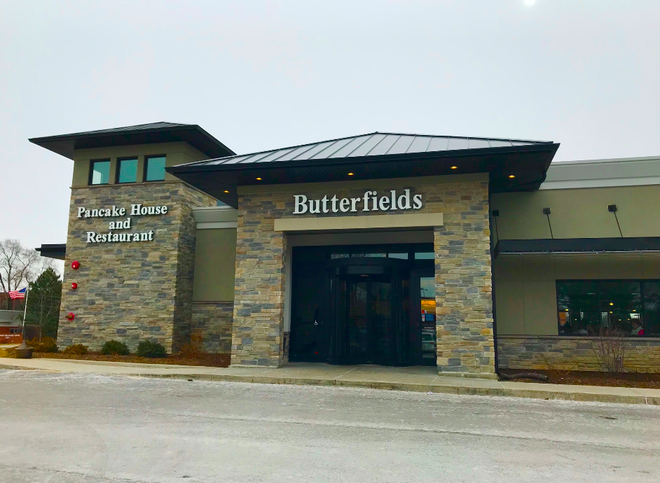 Butterfield's is a modern restaurant that serves breakfast and lunch in a modern and welcoming setting.