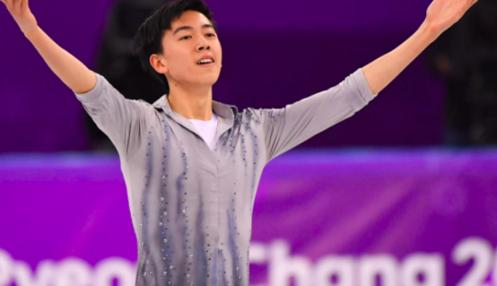 Vincent Zhou is the youngest athlete to represent the U.S. in figure skating.