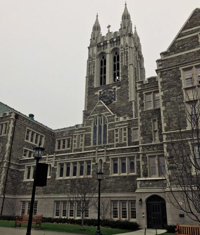 Boston College is a favorite among students that offers many gothic style buildings.
